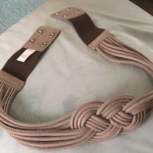 Aldo large taupe belt